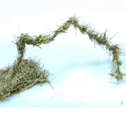 dubbing de liebre en cordon oliva oro