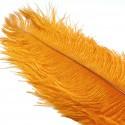 pluma avestruz HARELINE naranja