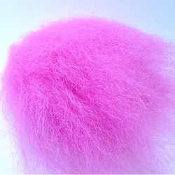 Icelandic sheep hair Fl. pink