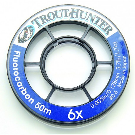 Trout Hunter fluorocarbon 6X