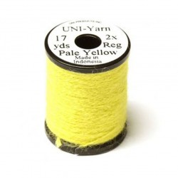 hilo peludo UNI-YARN pale yellow