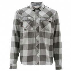 Heavyweight flannel boulder plaid S