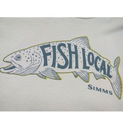 camiseta fish local trout