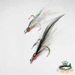 triples con plumas nº4 w/green