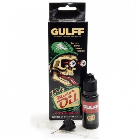 Gulff dirty Motor Oil