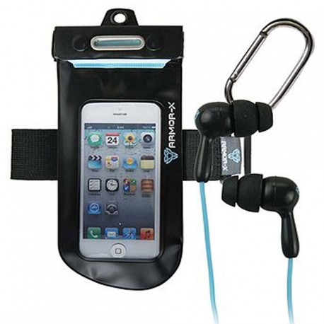 AquaGear funda movil+cascos impermeables